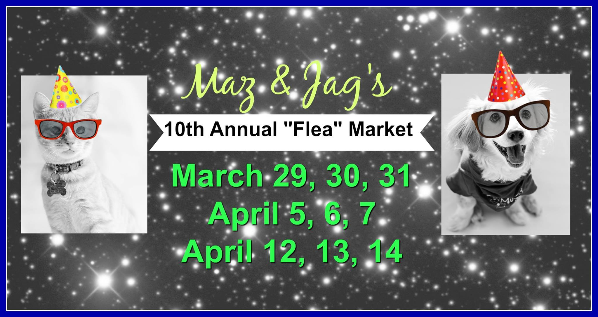 Pampered Paws 10th Annual Flea Market